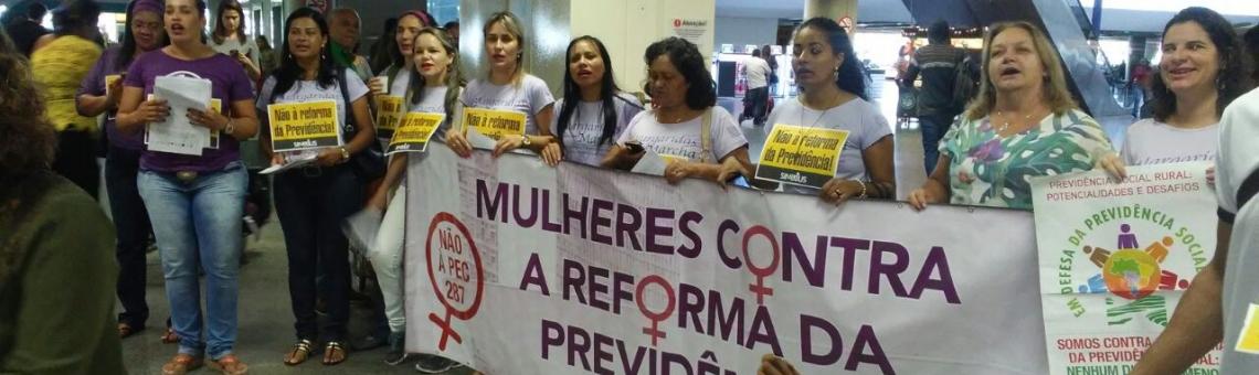 Mulheres são maioria na Previdência Social e serão as maiores prejudicadas com a reforma
